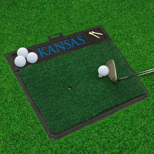 Kansas Jayhawks Golf Hitting Mat