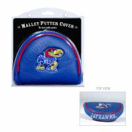 Kansas Jayhawks Golf Mallet Putter Cover
