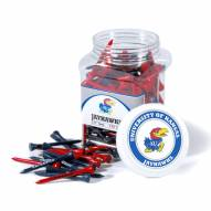 Kansas Jayhawks 175 Golf Tee Jar