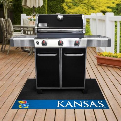 Kansas Jayhawks Grill Mat