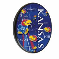 Kansas Jayhawks Digitally Printed Wood Sign