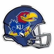 Kansas Jayhawks Helmet Car Emblem