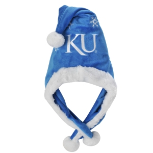 Kansas Jayhawks Holiday Dangle Hat
