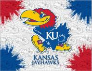 Kansas Jayhawks Logo Canvas Print