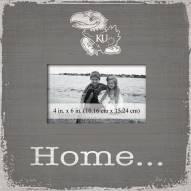 Kansas Jayhawks Home Picture Frame