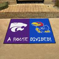 Kansas Jayhawks/Kansas State Wildcats House Divided Mat