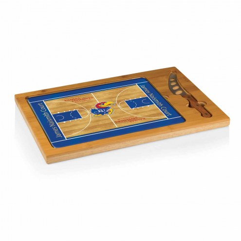 Kansas Jayhawks Icon Cutting Board