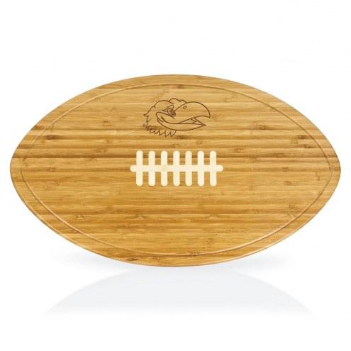 Kansas Jayhawks Kickoff Cutting Board