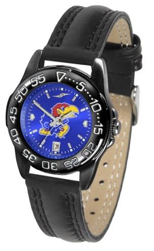Kansas Jayhawks Ladies Fantom Bandit AnoChrome Watch