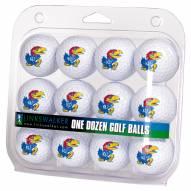 Kansas Jayhawks Dozen Golf Balls