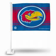 Kansas Jayhawks Car Flag