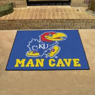 Kansas Jayhawks Man Cave All-Star Rug