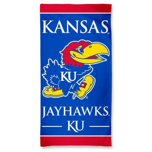 Kansas Jayhawks McArthur NCAA Beach Towel
