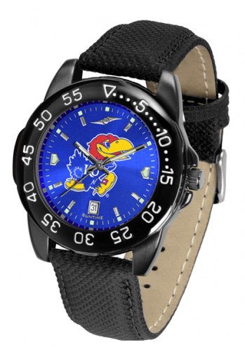 Kansas Jayhawks Men's Fantom Bandit AnoChrome Watch