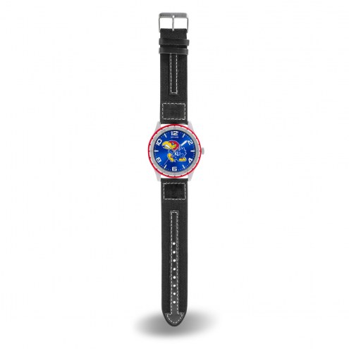 Kansas Jayhawks Men's Gambit Watch