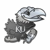Kansas Jayhawks Metal Car Emblem