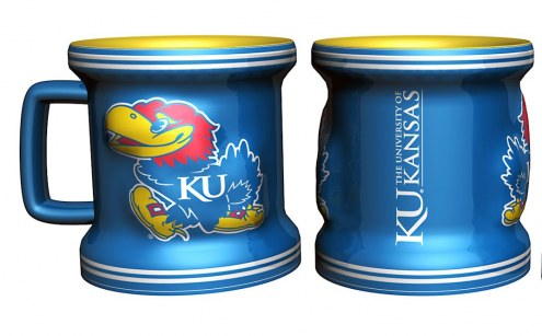Kansas Jayhawks Mini Mug Shot Glass