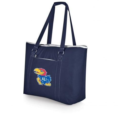 Kansas Jayhawks Navy Tahoe Beach Bag