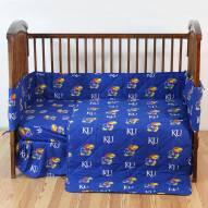 Kansas Jayhawks Baby Crib Set