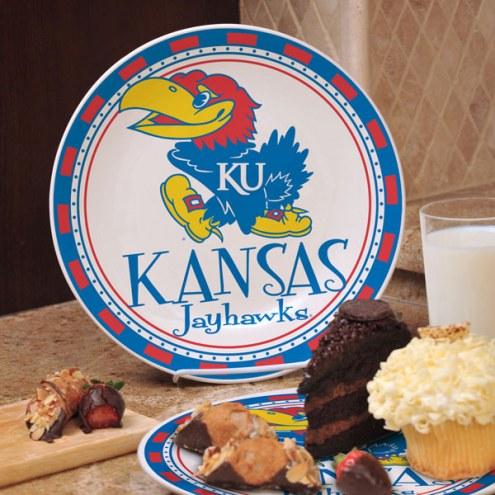 Kansas Jayhawks NCAA Ceramic Plate