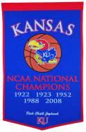 Winning Streak Kansas Jayhawks NCAA Basketball Dynasty Banner