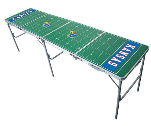 Kansas Jayhawks College Tailgate Table