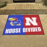 Kansas Jayhawks House Divided Mat