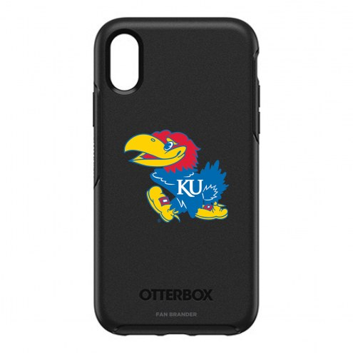 Kansas Jayhawks OtterBox iPhone XR Symmetry Black Case