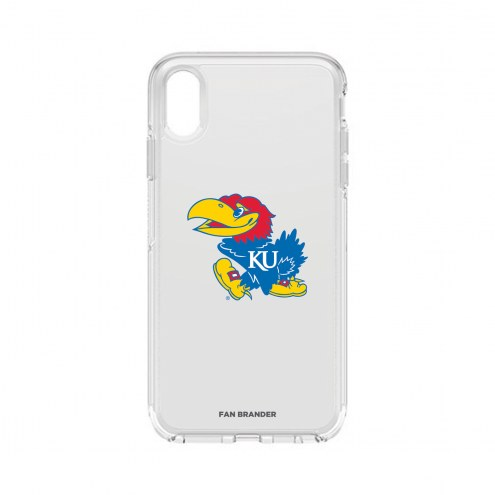 Kansas Jayhawks OtterBox iPhone XS Max Symmetry Clear Case