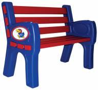 Kansas Jayhawks Park Bench
