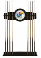 Kansas Jayhawks Pool Cue Rack