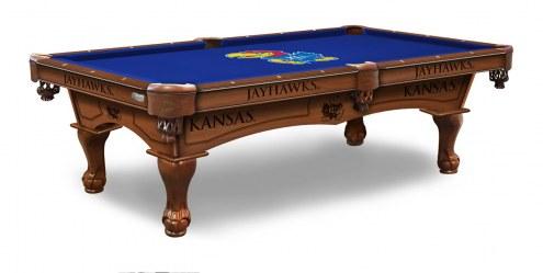 Kansas Jayhawks Pool Table