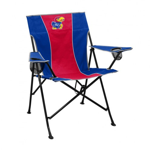 Kansas Jayhawks Pregame Chair