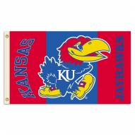 Kansas Jayhawks Premium 2-Sided 3' x 5' Flag