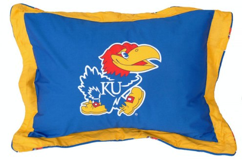 Kansas Jayhawks Printed Pillow Sham