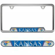 Kansas Jayhawks License Plate Frame