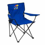 Kansas Jayhawks Quad Folding Chair