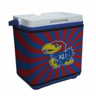 Kansas Jayhawks Rappz 18qt Cooler Cover (Cooler not included)