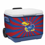 Kansas Jayhawks Rappz 50qt Cooler Cover (Cooler not included)