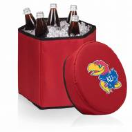 Kansas Jayhawks Red Bongo Cooler