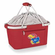 Kansas Jayhawks Red Metro Picnic Basket