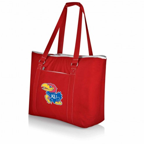 Kansas Jayhawks Red Tahoe Beach Bag