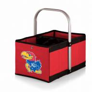 Kansas Jayhawks Red Urban Picnic Basket