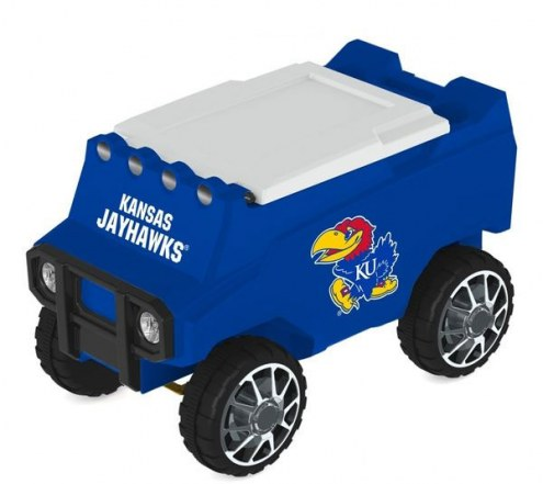 Kansas Jayhawks Remote Control Rover Cooler