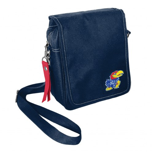 Kansas Jayhawks Ribbon Satchel