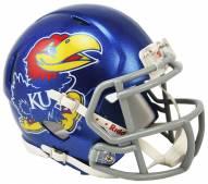 Kansas Jayhawks Riddell Speed Mini Collectible Football Helmet
