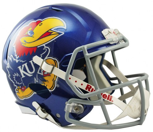 Kansas Jayhawks Riddell Speed Collectible Football Helmet