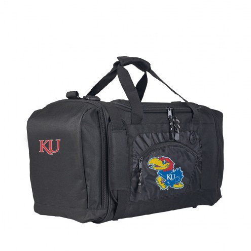 Kansas Jayhawks Roadblock Duffle Bag