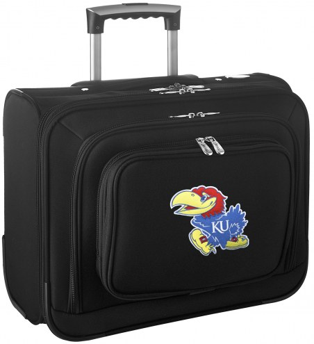 Kansas Jayhawks Rolling Laptop Overnighter Bag