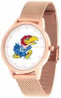 Kansas Jayhawks Rose Mesh Statement Watch